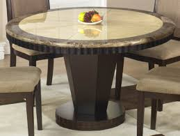 granite round dining table best granite top round dining table mesmerizing room l amazing