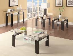 stylish and contemporary occasional table set
