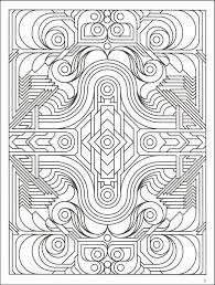 Geometrical Design Coloring Book Dover Design Coloring Books