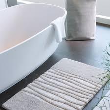 Buy Aquanova Morgan Bath Mat Silver Grey Amara