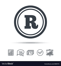 Registered Symbol Registered Trademark Icon Intellectual Work