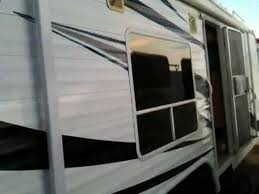 2005 ragen 2400ss toy hauler travel trailer