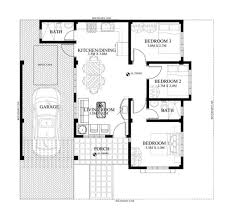 simple floor plan with dimensions in mm