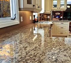 photo of granite countertops in a kitchen