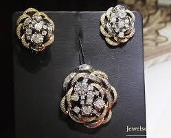 tanishq diamond earrings collection with