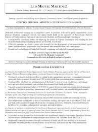 Manager Resume Objective Impressive Fitness Manager Resume Objective Mmventuresco