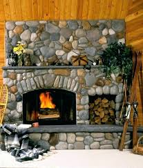 fireplace stone designs fireplace stone designs river rock always makes a pretty fireplace stone fireplace ideas