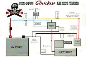chuckuslife com • view topic the chuckus diy dirty air air ride you can still use the same wiring and shock setup if you don t want two switches and want two shocks or just want one switch and one shock its fine