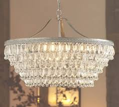 45 collection of clarissa chandelier clarissa crystal drop round chandelier potterybarn decided