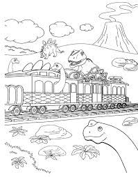 Small Picture Best Dinosaur Train Coloring Train Coloring Pages To Print