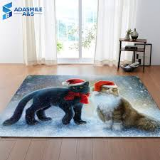 and nordic large 3d carpets lovely cats rug bedroom kids room play mat memory foam