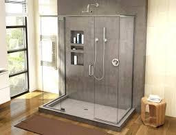 porcelain shower base preformed pans home depot cool popular for tile and large size of best bases tiling with prefab drain por