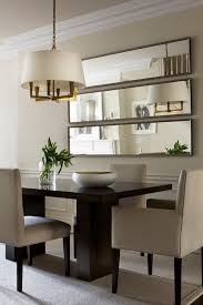 Living Room And Dining Room Ideas Classy The Treatment Of The Mirrors Is Especially Great For A Small Dining