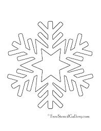 Snowflake Mandala Coloring Pages Free Printable Detailed Color
