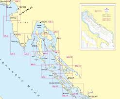 Naval Navigation Charts Croatia Sailing Holidays And Yacht Charters