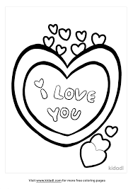 It's the holiday of love after all. I Love You Coloring Pages Free Love Coloring Pages Kidadl