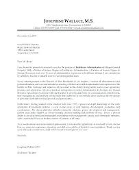 Healthcare Administration Cover Letter Adorable Cover Letter For Hospital Administration With No Experience