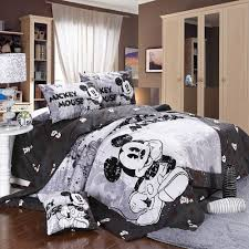 image of cute mickey mouse bedding