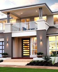 stylish contemporary home design in classy and lavish appearances