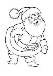 Small Picture Santa and mrs Claus christmas coloring pages printable