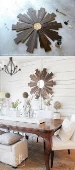 diy dining room wall decor. DIY Wood Sunburst Mirror Diy Dining Room Wall Decor