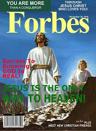 Jesus In Forbes Magazine | Christian friends, Knowing god, God is real