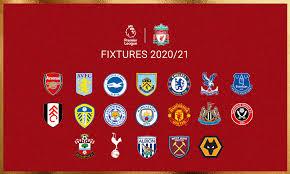 Premier league selects oracle cloud to power new, advanced football analytics. Liverpool S 2020 21 Premier League Fixture List Revealed Liverpool Fc