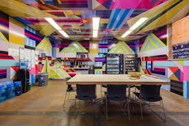 cool office cubicles. Brilliant Cubicles Hurley Campus Located In California Is A Hub Of Skate Surf And  Cool Not Only Do They Have The Most Awesomely Bright Break Room But Also  Intended Cool Office Cubicles