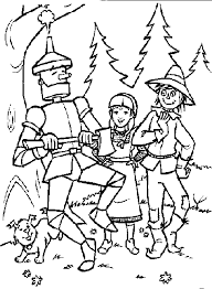 Small Picture Wizard of oz coloring pages for kids ColoringStar
