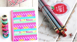 24 diy back to school supplies ideas and organization my favorite part about back to