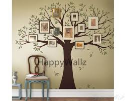 large family tree you can place photos around the tree