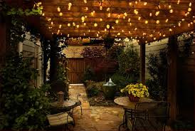 fascinating patio string lights ideas