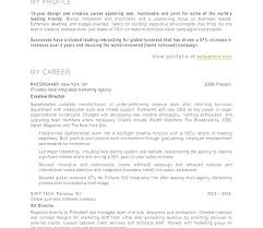 Art Director Resume Sample Creative Director Resume Art Gallery ...