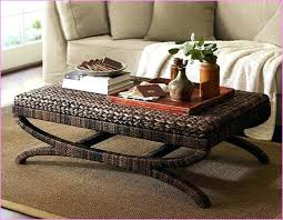 round seagrass coffee table coffee table color seagrass coffee table trunk