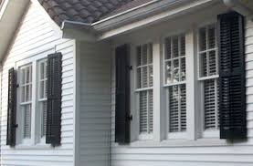 functional exterior shutters. decorative operable louvered exterior shutters functional