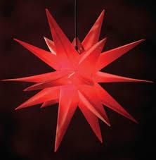 Deco Plant Weihnachtsstern Jumbo 18 Zacker Aus Kunststoff Für Innen Außen Dekoration ø 100 Cm In Rot 7971