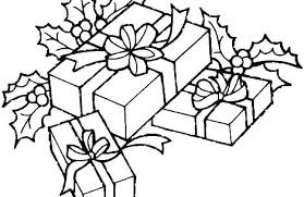 Gift Tag Coloring Page Christmas Gift Coloring Page Lookinglasstudio Co