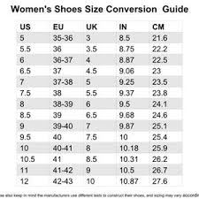 Clarks Womens Shoes Size Chart