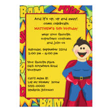 superheroes birthday party invitations superhero party invitations announcements zazzle co uk