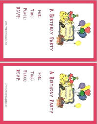 Make Your Own Printable Birthday Invitations Online Free Create Your Own Birthday Card Free Developmentbox
