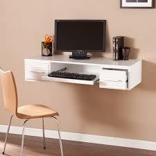 home office white desk. Simon Wall Mount Desk - White Home Office