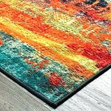 orange and blue area rug turquoise teal green blue orange rug area