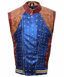 descendants 2 jay oo stewart leather vest