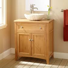 Bamboo Bathroom Sink 30 Narrow Depth Halifax Bamboo Vessel Sink Vanity Bathroom