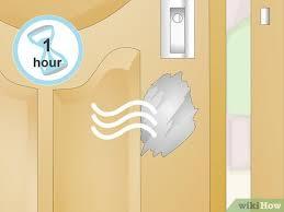 repair a damaged hollow core door