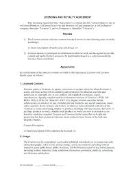 Collective Bargaining Agreement Template Enchanting Royalty License Agreement Template Asctechco
