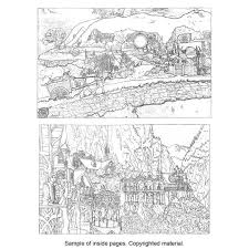 Small Picture The Lord of the Rings Movie Trilogy Coloring Book