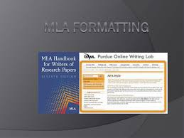 Mla Format And Citations Ppt Ms Brooks World Of Books