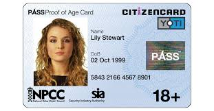 Make Your Own Identification Card Requirements For Your First Uk Id Card