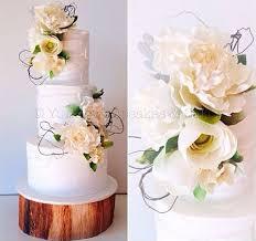 Birch Tree Wedding Cakes Woodgrain Effects Cake Geek Magazine